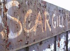 SCARGILL No1 (geo3pea) Tags: rust decay sheffield scargill griffiti minersstrike