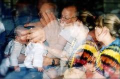 3 generations (MacSmiley) Tags: film 35mm mommy 2006 william grandpa kristin canonae1 bryn multiexposure grandbaby multipleexposures macsmiley utatadoubletake