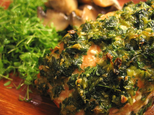 salmon with gremolata