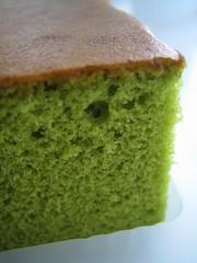 Matcha Castella Cake - by Sifu Renka