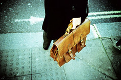 [big-brown-brief-case] (oilrockz) Tags: street london film lomo lca xpro xprocess kodak crossprocess lomolca 400asa top20xpro elitchrome xrpocess