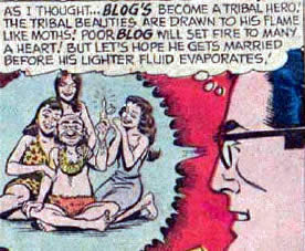 "Quite Possibly the First Time the Word ""Blog"" was Used in Comics - I"