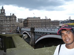Waverly Bridge, Edinburgh, Scotland, United Kingdom