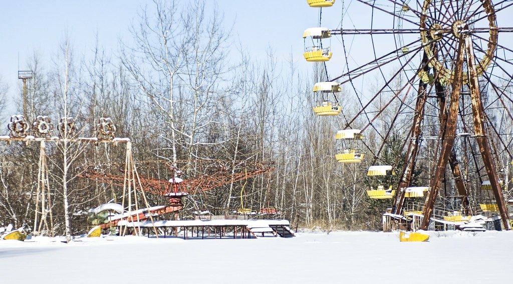 My Chernobyl Adventure part 2:  Rusting Amusement Park