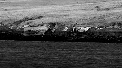 Brokenship black and white (IvarPeturs) Tags: iceland