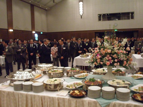 CSJ reception, Kansai University