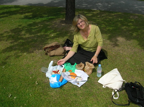 when we had a picnic in Paris