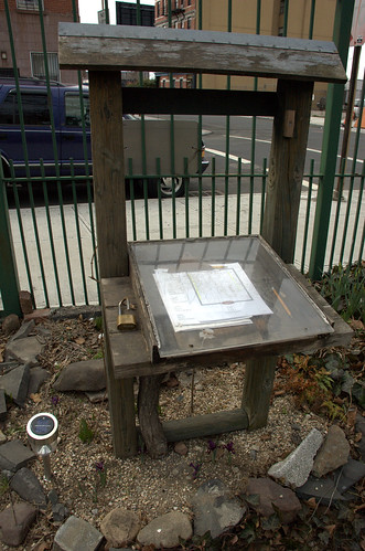 Sign-Up Station, Summit Street Community Garden
