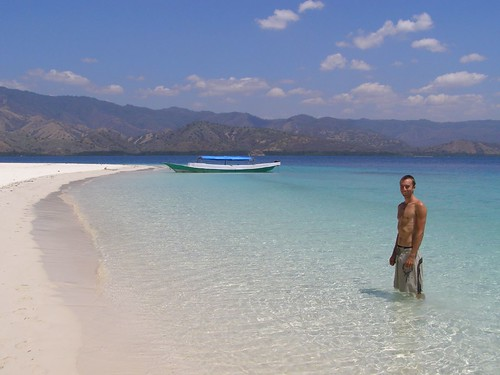 A deserted island off the coast of Flores