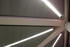 CIMG1625e.jpg (unknown8bit) Tags: lighting travel light berlin architecture germany de concrete deutschland airport support terminal structure ceiling column panels airports flughafen beams lightfixture commercialspace txl berlintegelairport