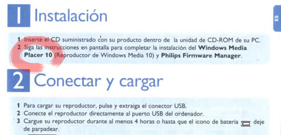 Windows Media PLACER 10 - jajajaja