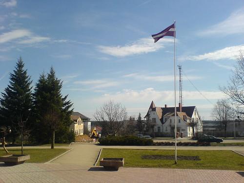 Near the School