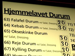 Okseskinke (Rasimu) Tags: food copenhagen funny fastfood nørrebro kebab shawarma
