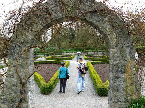 Stone Arch at the VanDusen Botanical Garden