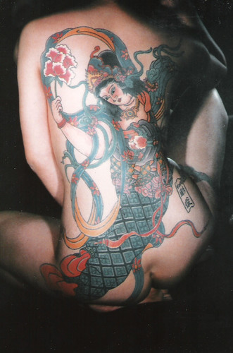 Tattooed Lady - Japanese Style
