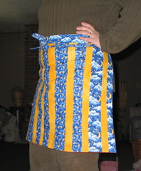 an apron  - I made this one