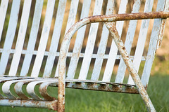 Lawn Furniture (Paul Cook) Tags: ohio white rusty lawnfurniture paulcook yardfurniture
