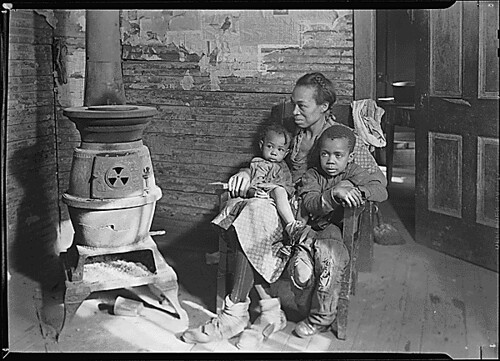 Public Domain: WPA: Family of Unemployed Man, West Virginia, March 1937 by Lewis Hine (NARA)
