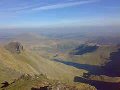 and to the west (benaston) Tags: walking snowdon ramblers tryfan