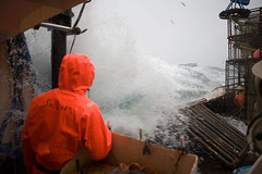 Wave2 (coreyfishes) Tags: ocean sea copyright snow color ice dutch weather norway alaska danger harbor photo fishing fisherman king all arnold picture wave crab corey commercial rights catch kingcrab discovery reserved harsh beringsea crabbing 2007 rollo bering snowcrab opilio deadliest deadliestcatch coreyarnoldcorey coreyfishes