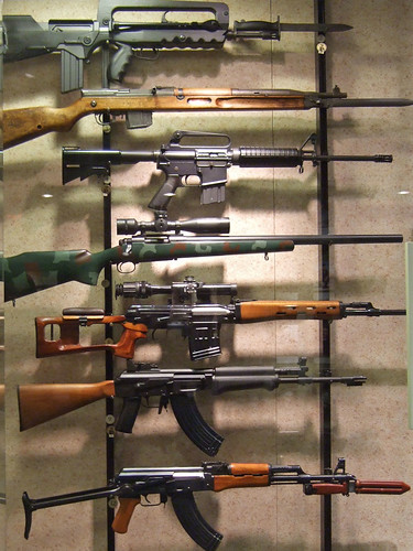 m 16 rifle. thought) rifle, M-16 Colt