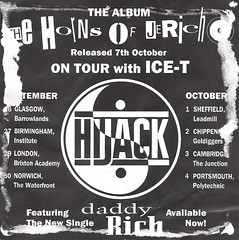 Hijack Flyer (back)