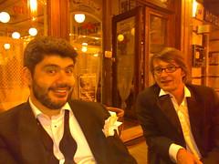 Rodrigo & Ivan at MIPtv after Interactive Emmy ceremony