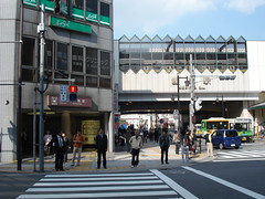 Nerima's two stations, Tokyo, Japan (ilcavaliereinglese) Tags: bus station japan train underground subway tren tokyo gare map transport tube railway line kanji ikebukuro   stazione japon giappone nihon nerima kotesashi oedo yurakucho  ferrocarril seibu honshu