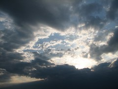 Sun And Clouds (audreyjm529) Tags: blue sky sun white clouds zoom sunny rays beautywithin supershot