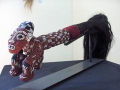 Cavaliers africains 003 (Guillaume Cingal) Tags: africa wood horses sculpture art mali tours bois chevaux cameroun afrique cavaliers touraine baoul