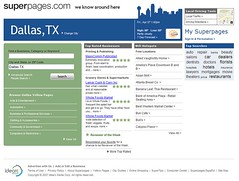 Superpages new redesign