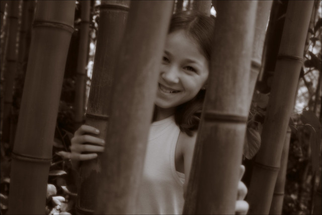 Niece in the Bamboo Forest