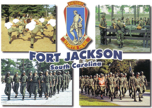 Fort Jackson in early 1980s or late 1970s?