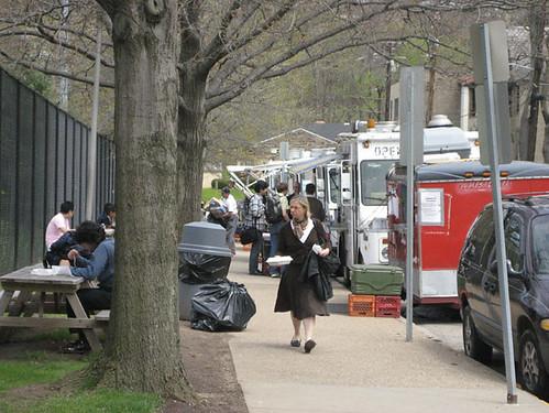 CMU Food trucks