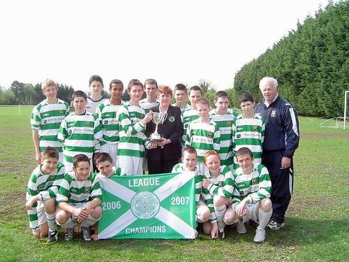 League Winners - Under 14 (28/04/07)