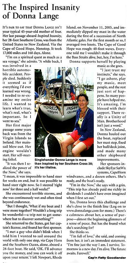 Cruising World May 2007