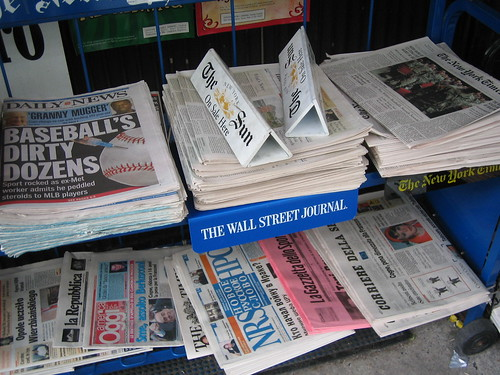 Newspapers for Sale in NYC