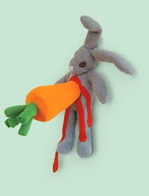 ataque de la zanahoria de peluche