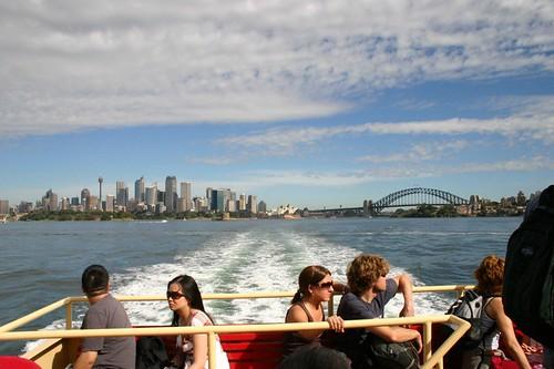 Ferry ride to Taronga Zoo