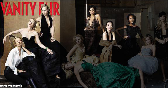Vanity Fair March 2005 Cover