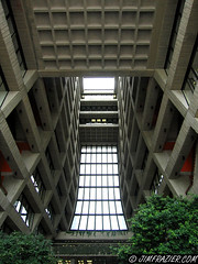 Wilson Hall (Jim Frazier) Tags: abstract building architecture illinois v100 interior birding may batavia kane fermilab atrium q3 2007 v200 wilsonhall ferminationalacceleratorlaboratory birdcount batblog jimfraziercom