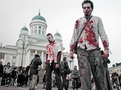 Zombie walk por Sameli.