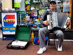 Dublin Street Musician (C) 2007