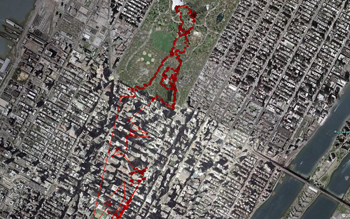 2007-05-05 NYC Route