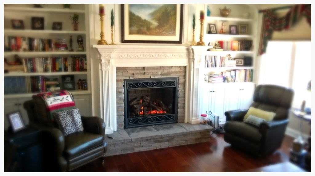 Mendota DXV-45 Direct Vent Fireplace. Hixson, TN.