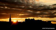 07-IMG_9482 Edinburgh Castle Sunset (marinbiker 1961) Tags: edinburgh caltonhill scotland2016 sunset city spires buildings sky colour outdoors