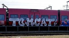 Graffiti in Copenhagen 2016 (kami68k -all over-) Tags: copenhagen kopenhagen 2016 graffiti illegal bombing dsb train chrome tomcat