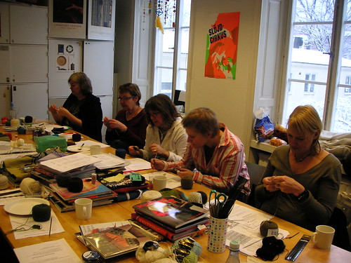 knitting at hv-skolan