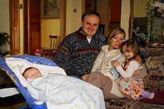 La famille de Martine et Myriam
