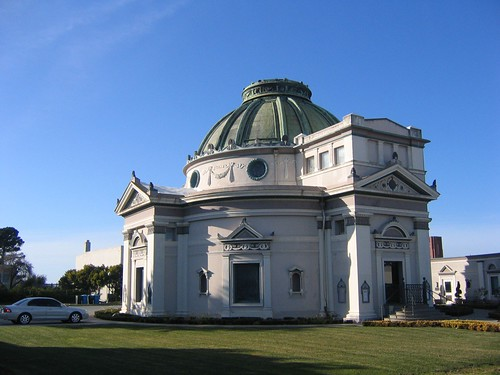 Exterior of San Francisco Columbarium